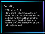 our calling1