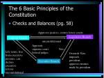 the 6 basic principles of the constitution11