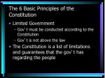 the 6 basic principles of the constitution6