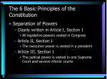 the 6 basic principles of the constitution9