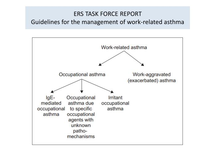 ERS TASK FORCE REPORT