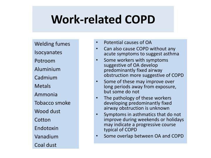 Work-related COPD