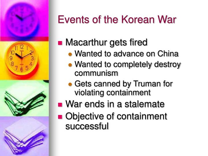 Events of the Korean War