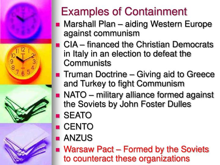 Examples of Containment