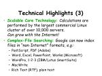 technical highlights 3