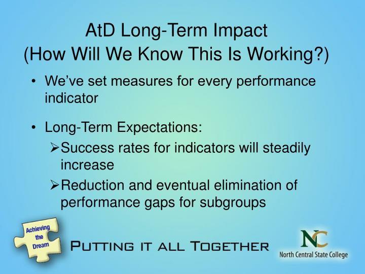 AtD Long-Term Impact