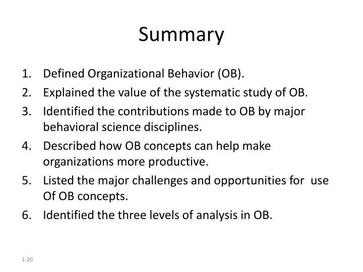 ob concepts