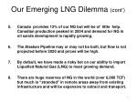 our emerging lng dilemma cont
