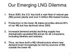 our emerging lng dilemma