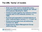 the uml family of models