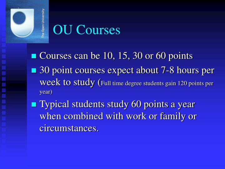 OU Courses