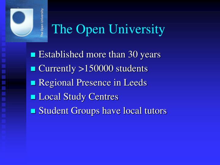 The open university1