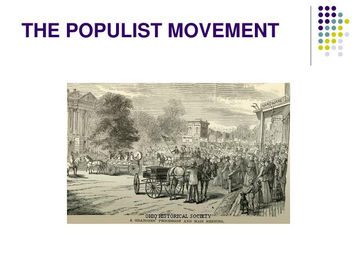 emergence of populist movement The re-emergence of populism is resurrecting demons we thought were buried at the end of the second world war harvesting the produce for distribution populists often pin present troubles on those who are easily caricatured as the embodiment of society's woes.