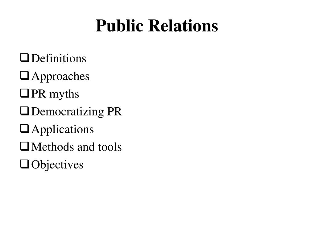 Ppt Public Relations Powerpoint Presentation Free Download Id 4502808