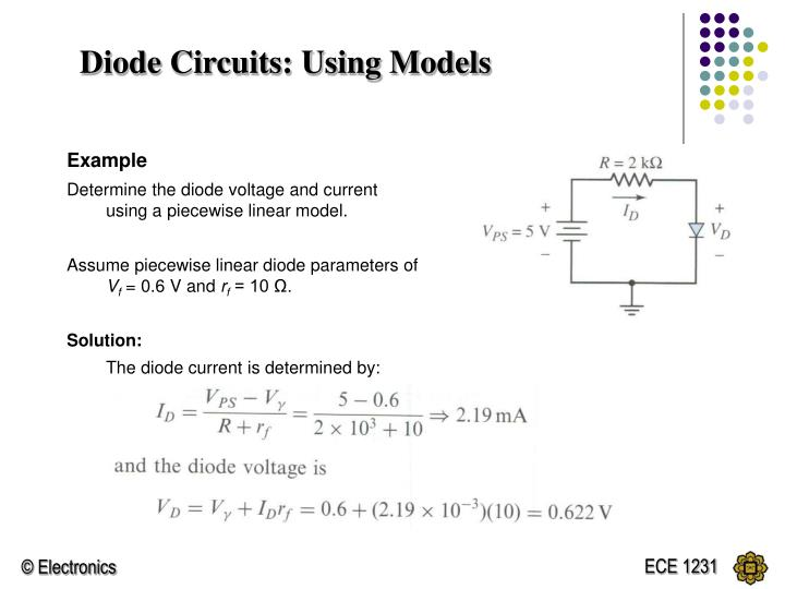 Diode Circuits: Using Models