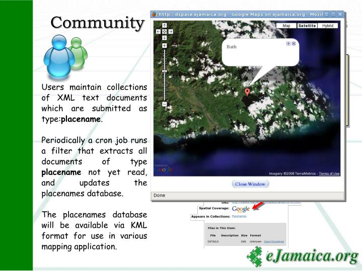 Community of Jamaican Placenames
