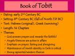 book of tobit