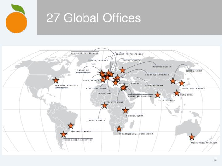 27 Global Offices