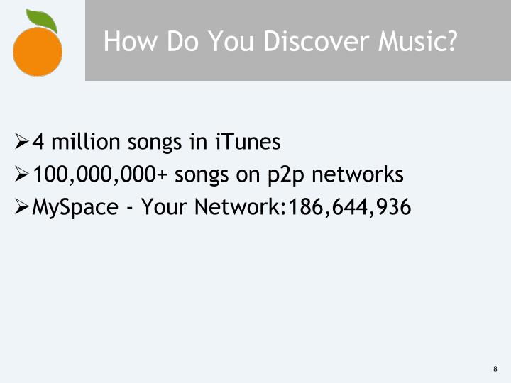 How Do You Discover Music?