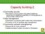 capacity building 2