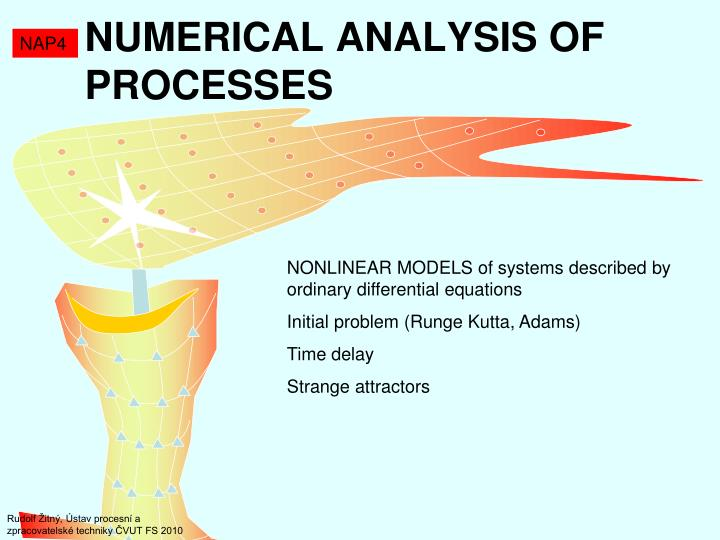 Numeric al anal ysis of proces ses