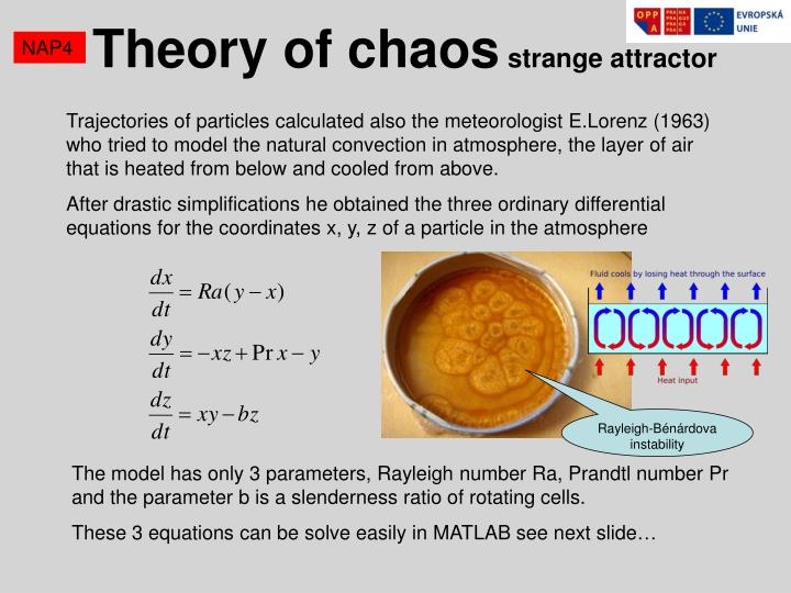 Theory of chaos