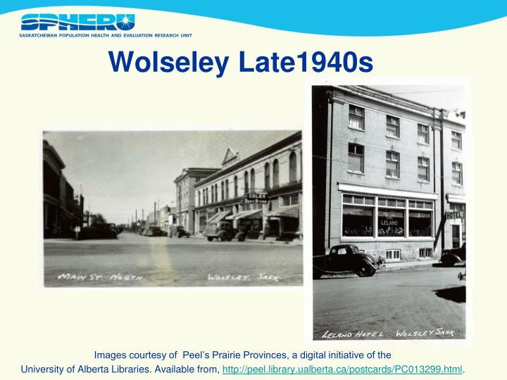 Wolseley Late1940s