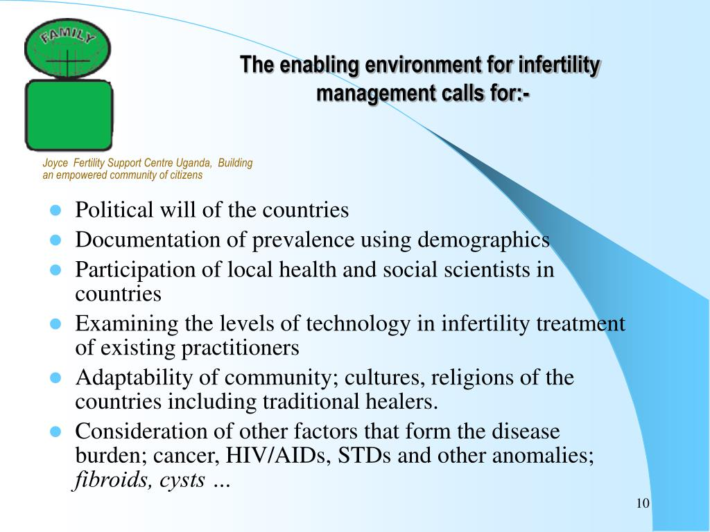 PPT - Developing Countries & Infertility: The Role of Patients