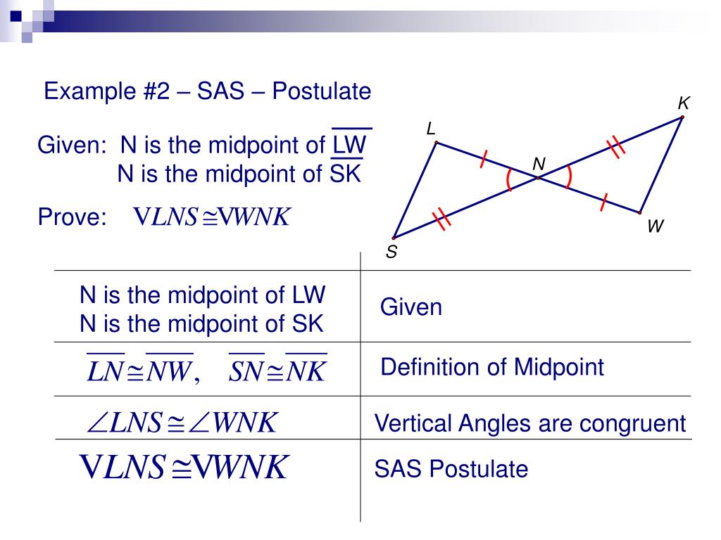 PPT - Proving Triangles Congruent PowerPoint Presentation