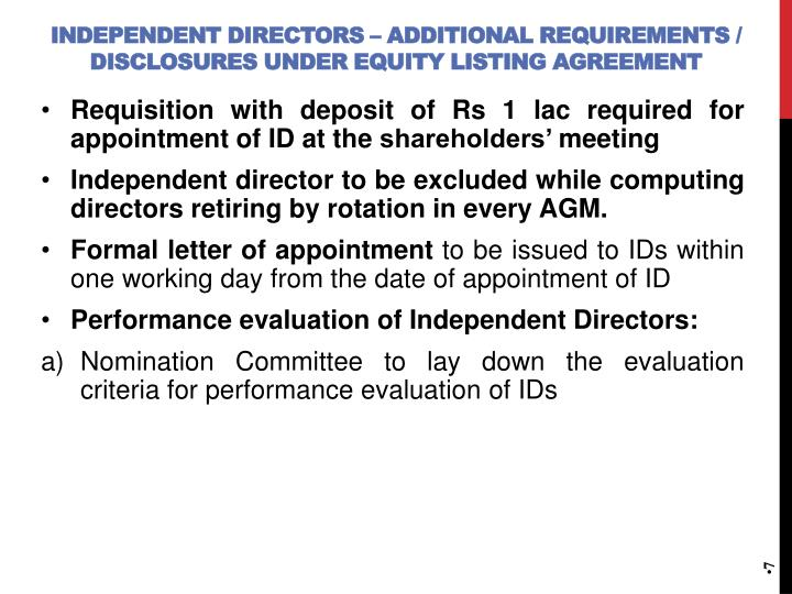 Ppt Presentation On Appointment And Qualification Of Directors
