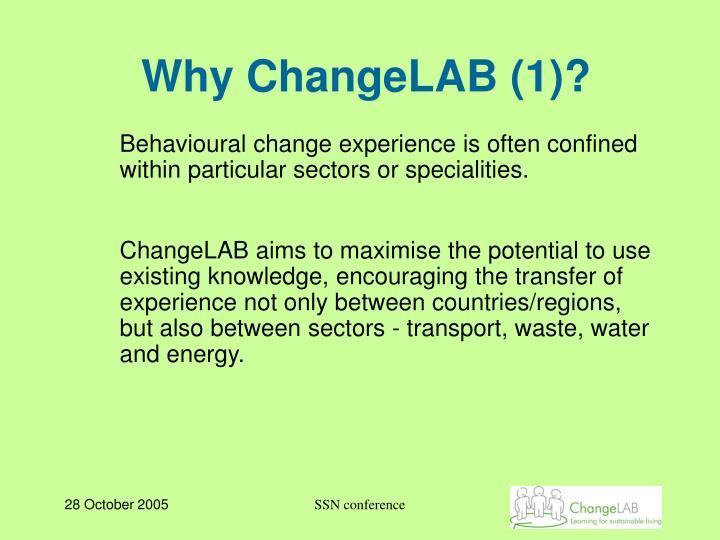 Why ChangeLAB (1)?