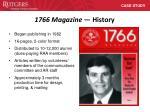1766 magazine history