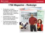 1766 magazine redesign1