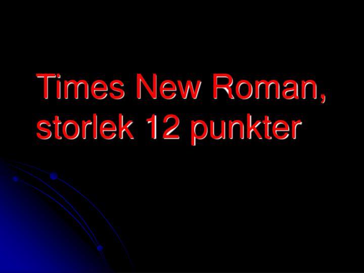 Times New Roman,