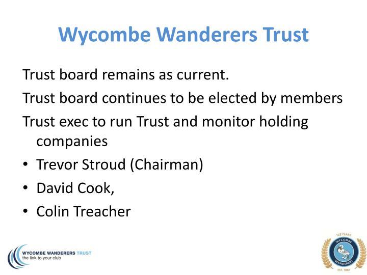 Wycombe Wanderers Trust