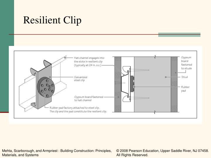 Resilient Clip