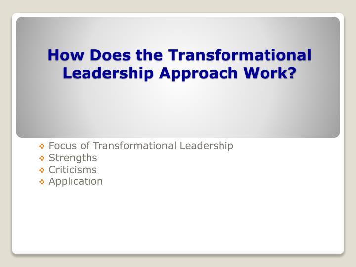 criticism of transformational leadership