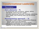 transformational leadership1