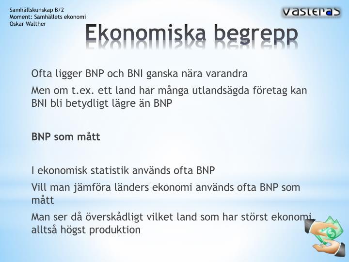 Ekonomiska begrepp2