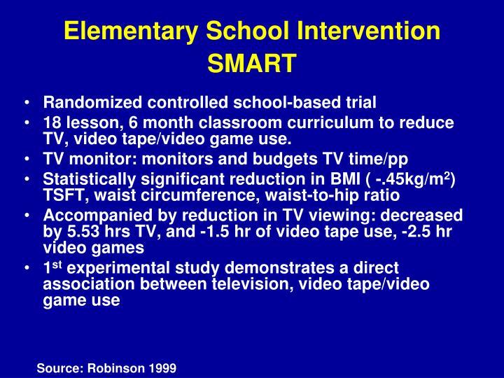 Elementary School Intervention