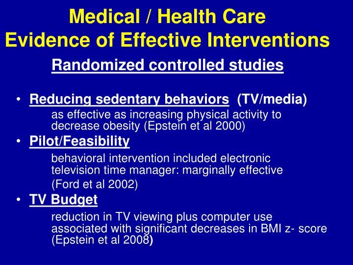Medical / Health Care