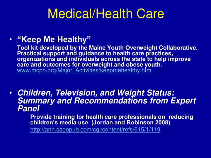 Medical/Health Care