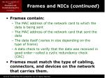 frames and nics continued1