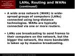 lans routing and wans continued1