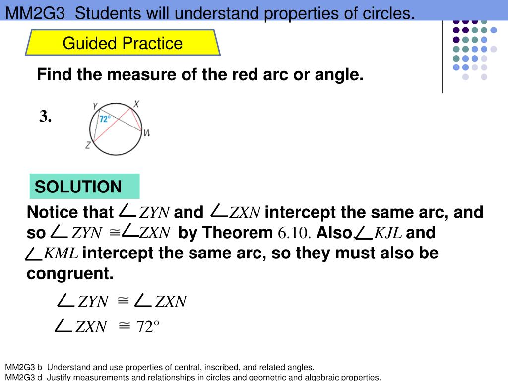 PPT - Use Inscribed Angles and Polygons PowerPoint Presentation - ID