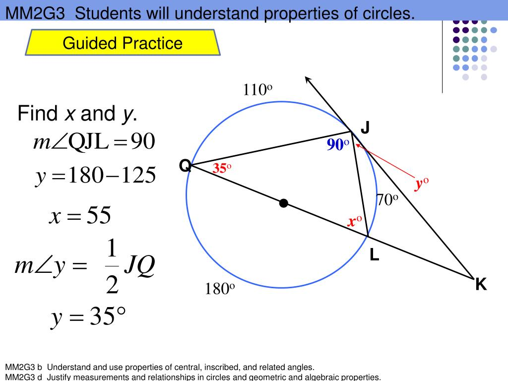 PPT - Use Inscribed Angles and Polygons PowerPoint