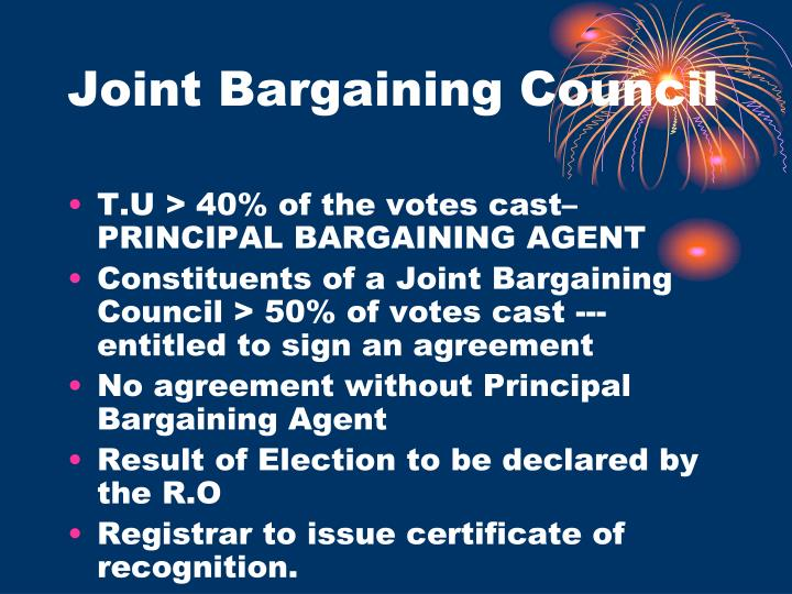Joint Bargaining Council
