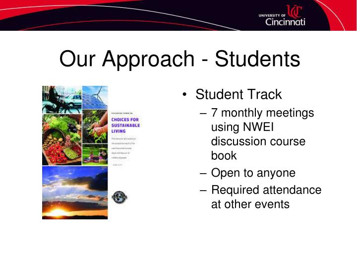 Our Approach - Students