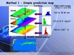 method 1 simple prediction map