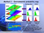 method 2 environmental probability map